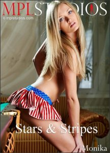 MPLstudios :  Monika - Stars and Stripes