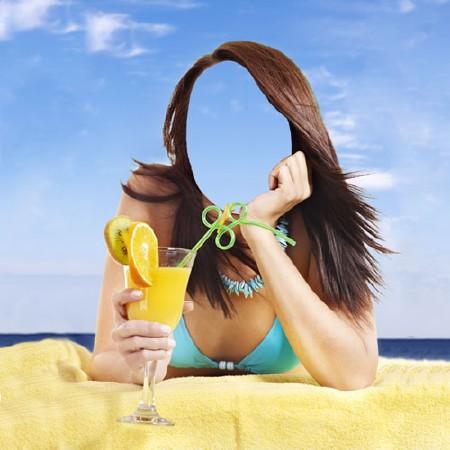 Как в фотошопе сделать фото на пляже