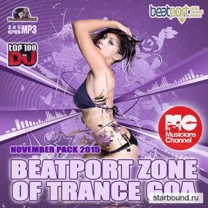 Beatport Zone Of Trance Goa: November Pack (2015)