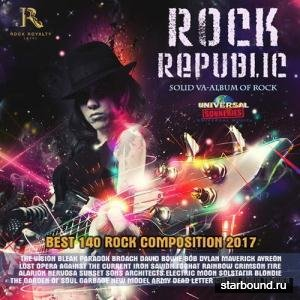 Rock Republic: Solid VA-Album Of Rock (2017)