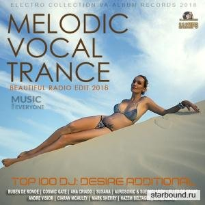 Melodic Vocal Trance: Beautiful Radio Edit (2018)