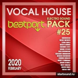 Beatport Vocal House: Electro Sound Pack #25 (2020)