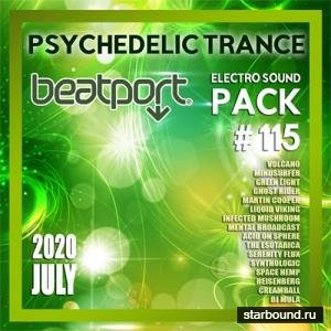 Beatport Psychedelic Trance: Electro Sound Pack #115 (2020)