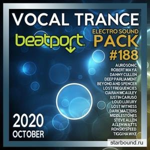 Beatport Vocal Trance: Electro Sound Pack #188 (2020)